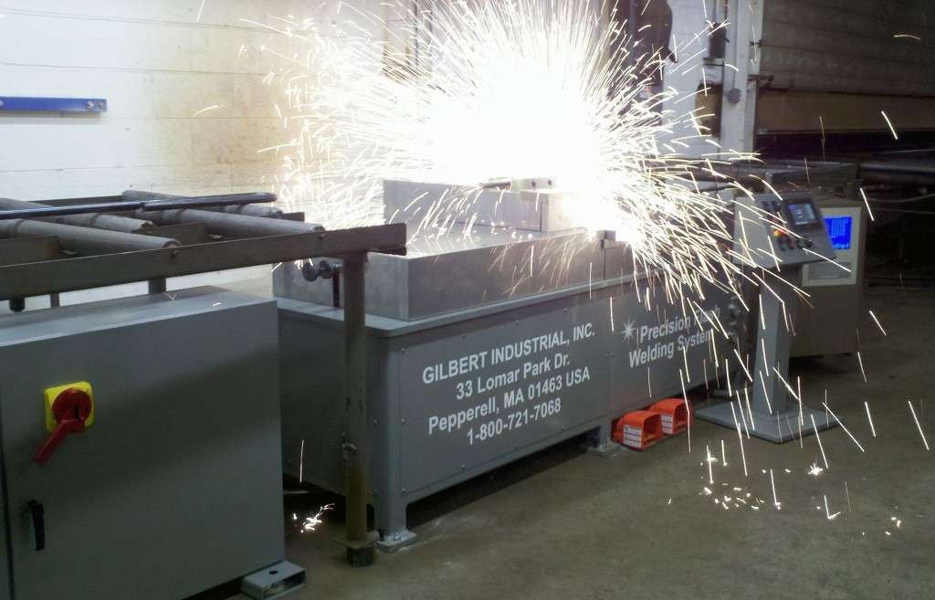 flash welding control application