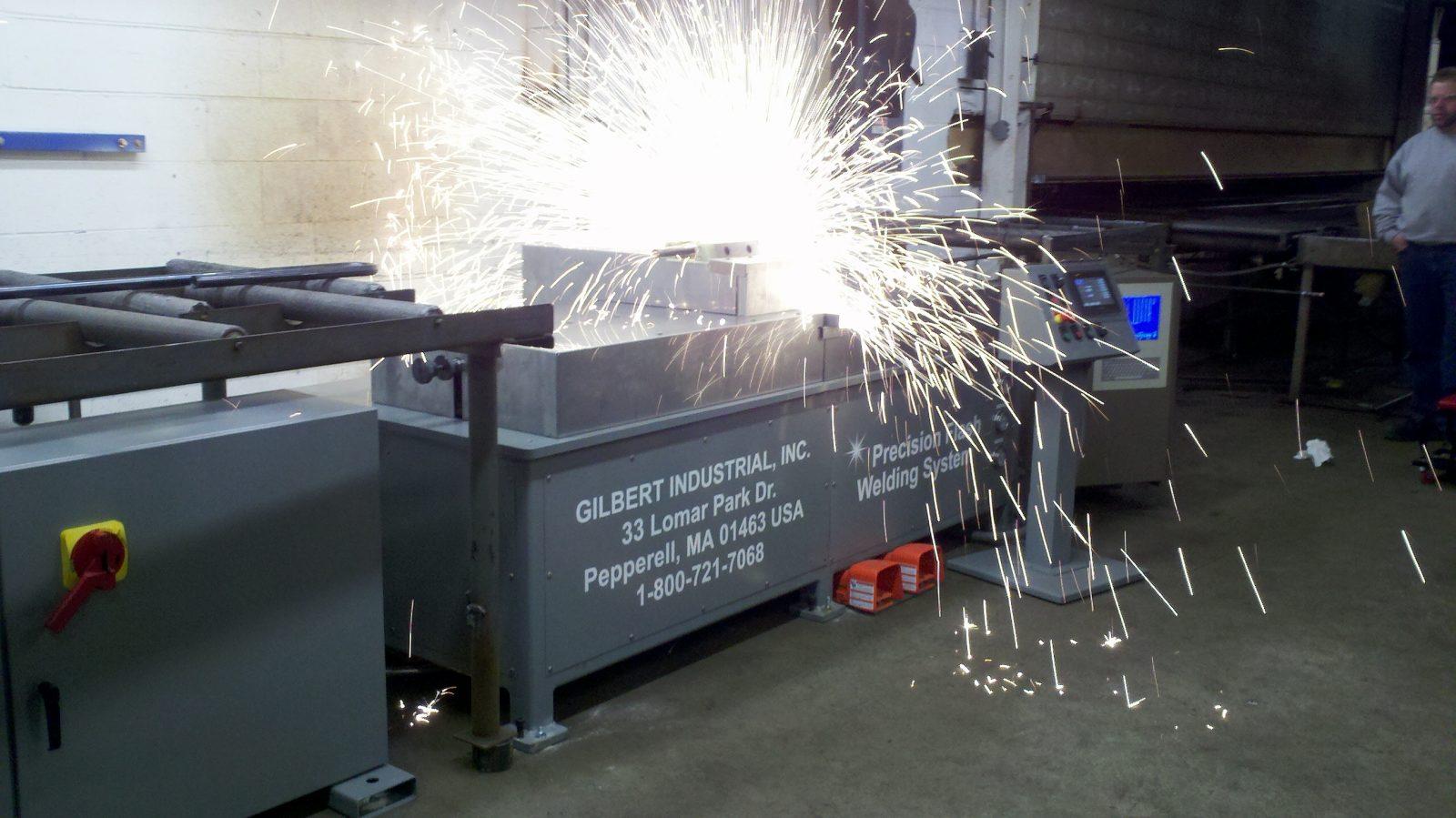 flash butt welding options